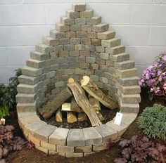 The BEST DIY Garden Ideas and Amazing Projects Stack Pavers to make a Firepit.these are awesome DIY Garden & Yard Ideas! The BEST DIY Garden Ideas and Amazing Projects Stack Pavers to make a Firepit.these are awesome DIY Garden & Yard Ideas!
