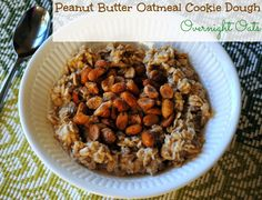 Peanut Butter Oatmeal Cookie Dough Overnight Oats