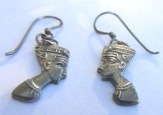 Vintage .5 925 Sterling Silver  Egyptian by PureJewelryElegance