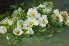Lepore Fine Arts specializes in buying and selling American and European Paintings and Watercolors from the & Centuries. My Flower, Flower Art, Cherokee Rose, Rose Stencil, Native American Beauty, European Paintings, Naturally Beautiful, Still Life, Vintage Art