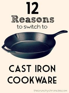 Cast iron cookware has gotten pushed to the back burner lately (ha, get it?) We seem to have forgotten the benefits cast iron has to our health and cooking!