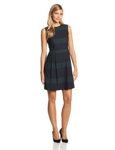 Sleeveless Striped Dress by Marc New York by Andrew Marc