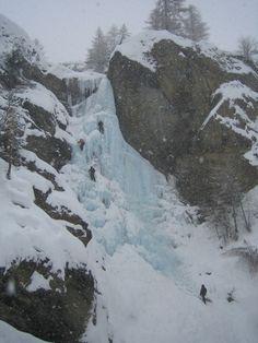 Cogne - Valeille: Cascade de Lillaz