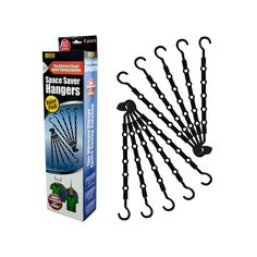 Space Saver Hangers   10 Count
