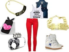 """Urban Glam"" by shoprockstarz ❤ liked on Polyvore"