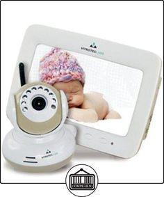 """Vitroteclabs, Camara vigila bebés digital con Pantalla a color LCD 7""""  ✿ Vigilabebés - Seguridad ✿ ▬► Ver oferta: http://comprar.io/goto/B015D1BIQ0"""