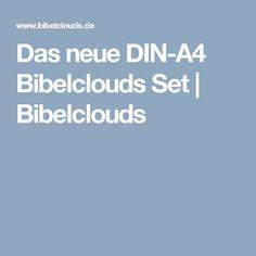 Das neue DIN-A4 Bibelclouds Set | Bibelclouds