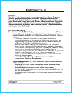 examples on resumes