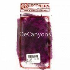 Zucker Feathers Hackle Purple .04oz  Price : $0.79