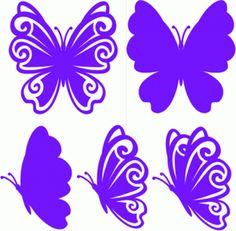 Diseño de la silueta tienda - Buscar diseños: Mariposa