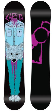 Capita Stairmaster Extreme Snowboard 148 - Mens