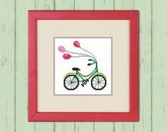 Cross Stitch Pattern PDF  Fun ride. Оriginal gift by TimeForStitch