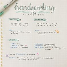 """steudious: """" thank you @studynoblues for tagging me to do the handwriting tag! it was fun ^-^ tagging: @jessastudy, @studiedied, @100atar, @studentcandy, @scholarly, @pillowstudies and anyone else who..."""