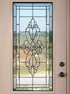 Photo about Luxury Model Home stained glass front door. Image of doorway, hallway, architecture - 5349860 Stained Glass Door, Stained Glass Designs, Stained Glass Panels, Stained Glass Patterns, Leaded Glass, Beveled Glass, Etched Glass, Wine Glass, Sea Glass