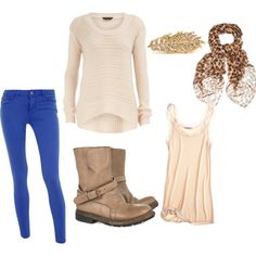 blue jeans outfit