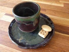 Coffee Set, Espresso Cups, Cup And Saucer, Stoneware, Tumbler, Iron, Etsy Shop, Ceramics, Tableware