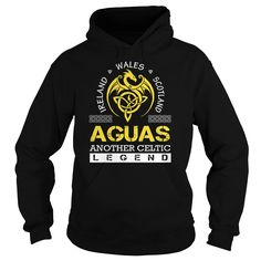 AGUAS Legend - AGUAS Last Name, Surname T-Shirt