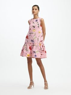 Latest Wedding Trend? Pressed flowers in Weddings! Find floral dresses, pressed flower jewelry, invitations, cakes and decor! Day Dresses, Summer Dresses, Flower Prints, Designer Dresses, Barbie, Fancy, Seasons, Mini, Cotton