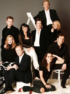 The cast of LOVE ACTUALLY (2003)