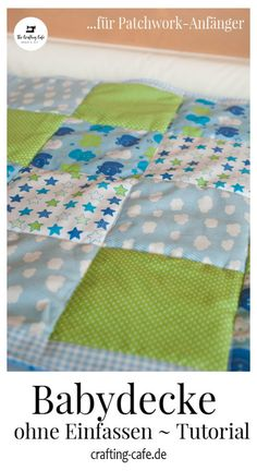 Einfache Babydecke nähen ohne einfassen * The Crafting Café In this tutorial for sewing beginners, I'll show you how to sew a baby blanket or baby blanket WITHOUT edging. This creates a sweet patchwork blanket for the baby :]. Sewing Hacks, Sewing Crafts, Sewing Projects, Sewing Tips, Sewing Tutorials, Sewing Ideas, Crafts For Girls, Baby Crafts, Fun Crafts