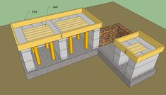 outdoor kitchen design plans | Outdoor kitchen plans free | HowToSpecialist - How to Build, Step by ...