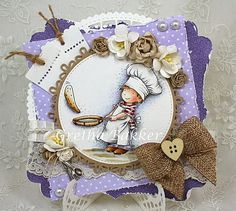 LOTV - Pancake Day with Snow Princess papers by Gretha Bakker