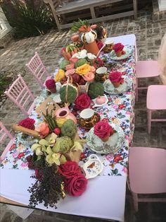 #dconcierge garden/veggie tea party  planned/designed by @dconcierge events #riveroaks Floral: @studio82 #houston #teaparty