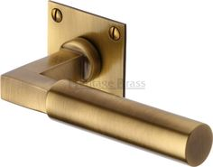 Bauhaus Range of Levers on Rose Available in various finishes Satin Nickel Antique Brass Polished Chrome A 38mm bore will be required to accept