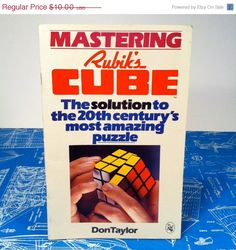 Mastering Rubik's Cube Book 1981 Solution How to by vintagebaron