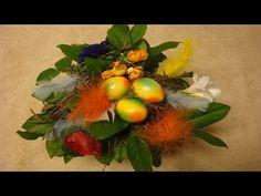 Ostergeschenk Blumenstrauß mit Ostereier selber machen | flora-shop.eu