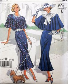 I'm pretty sure this is a re-print of the original Simplicity 1232!!!!