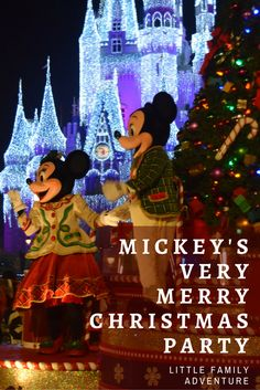 Why Should You Get Tickets to Mickey's Very Merry Christmas Party? I share a few of the top reasons my our family loves this special holiday event.