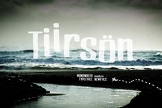 Tiirson (limited offer) by NEWFACE on @creativemarket