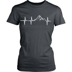 Official Mountain In My Heartbeat Women's T-Shirt