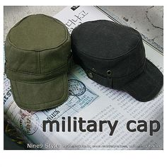 Military cap KhakiMSD by DOLKSTATION on Etsy
