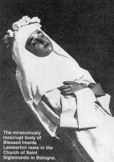 Blessed Imelda Lambertini (died 1333 – 12 years old)