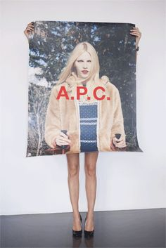 A.P.C.  FALL/WINTER 2011 ADVERTISING CAMPAIGN  Art direction by Petronio Associates.  Photography by Venetia Scott.