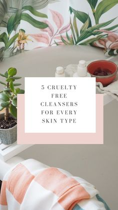 Here's my 5 favourite cruelty free cleansers for very skin type all tested by me personally - Maxine Brady We Love Home Blog Oily T Zone, Get Happy, Interior Stylist, Boho Diy, Natural Deodorant, Vegan Beauty, Love Home, Cleansers
