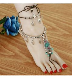 Shop online for Antique Silver Anklet Fashion Leather  Tassel Leg Bracelet For Women To Beach Ankle Chaine Cheville  Foot Chain Anklets at 49% off in India at Kraftly.com, Shop From 2Stop Store  Hot Picks Quality Products , ANSIAN41280XFS212818, Easy Returns. Pan India. Affordable Prices. Shipping. Cash on Delivery.