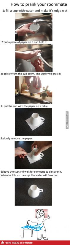 How to prank your roommate
