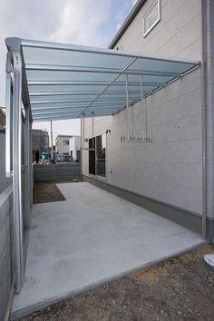 Laundry Room Design, Home Room Design, Home Interior Design, House Design, Outside Laundry Room, Outdoor Laundry Rooms, House Siding, House Roof, Tiny Container House