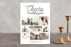 Cheers to Another Year New Year Photo Cards by Christine Taylor at minted.com