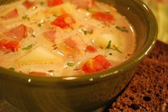 Hungarian Sausage Soup | The Cooking Mom