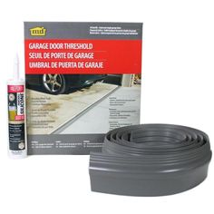 M D Building Products 10 Ft Gray Garage Door Threshold Kit Garage Door Threshold Garage Doors Single Garage Door