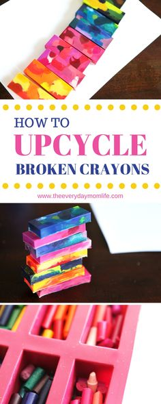 How to upcycle broke