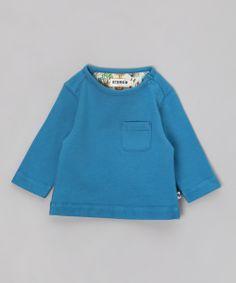 #Organic Cotton Blue Jumper by Bebobio Paris £9.99