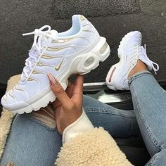 Top 10 Dashing Nike Air Max Plus Sneakers - Page 3 of 10 - WassupKicks Nike Air Max Plus, Tenis Nike Air Max, Nike Air Max Tn, Nike Air Max White, Cute Shoes, Women's Shoes, Me Too Shoes, Shoe Boots, Strappy Shoes