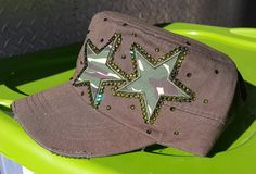 Check out this item in my Etsy shop https://www.etsy.com/listing/479717984/custom-1-of-a-kind-olive-green-with-camo