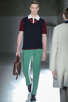 "Prada Menswear ""Creativity takes courage."" - Henri Matisse"