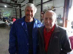 Jim Evans (Lost Oak Winery) and John E. Crosby, Jr.